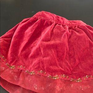 Gymboree 18-24 mo Holiday skirt